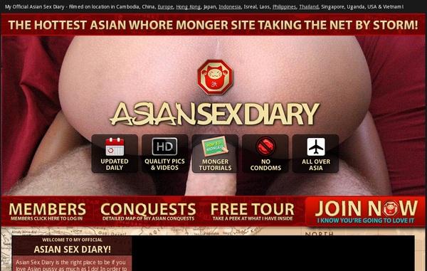Asian Sex Diary 密码
