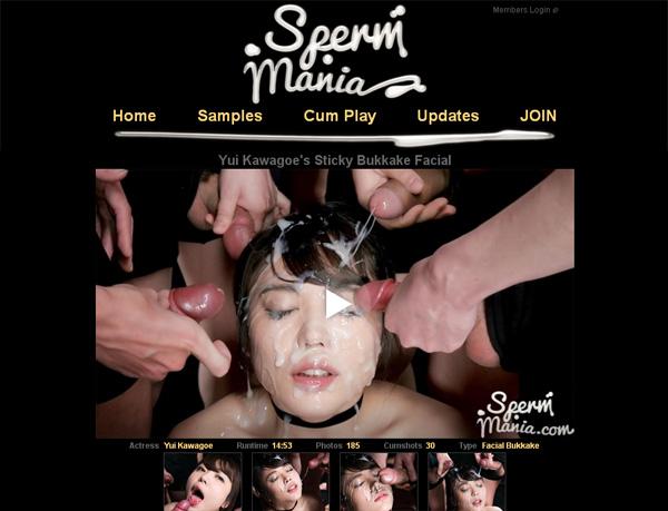 Spermmania.com Free Pass