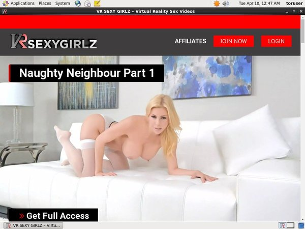 Vrsexygirlz.com Join Page
