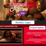 Xxx Caramel Kitten Live