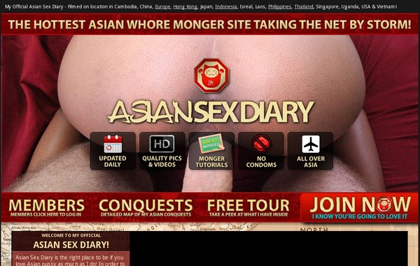 Asiansexdiary.com New Account