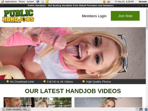 Contas Premium Public Handjobs