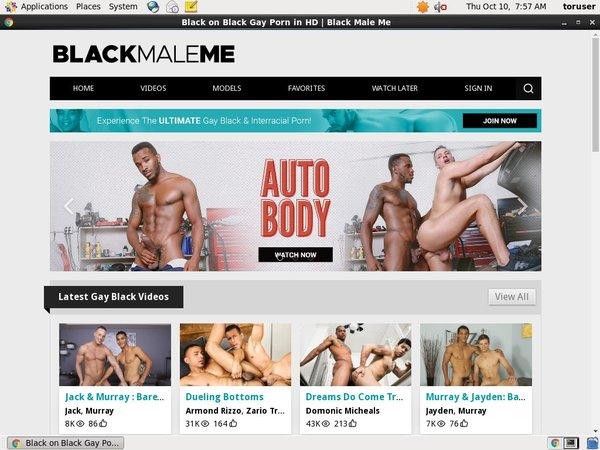 Black Male Me Gratuite