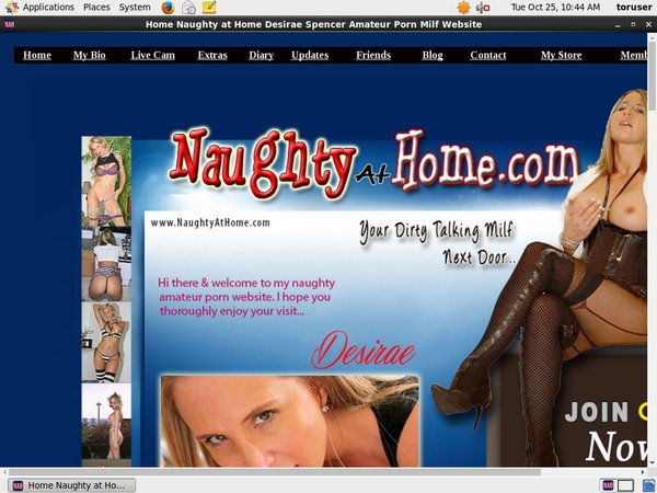 Join Naughty At Home Paypal