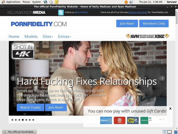Porn Fidelity Using Pay Pal