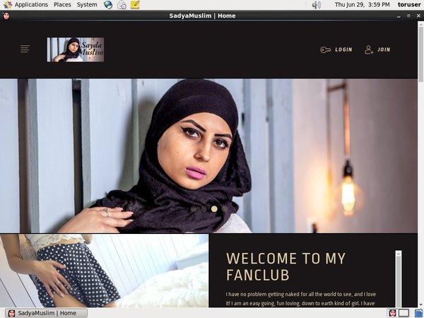 Sadyamuslim.modelcentro.com With Sliiing