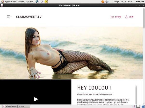 Free Clarasweet.tv Password Account