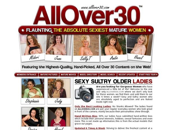 Allover30.com Network Password