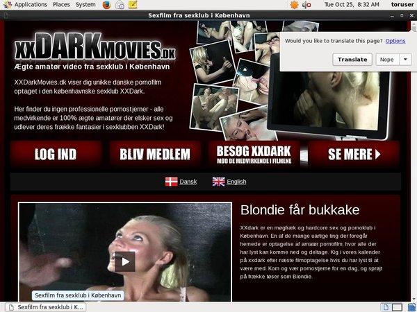 Get Xxdarkmovies Free Logins