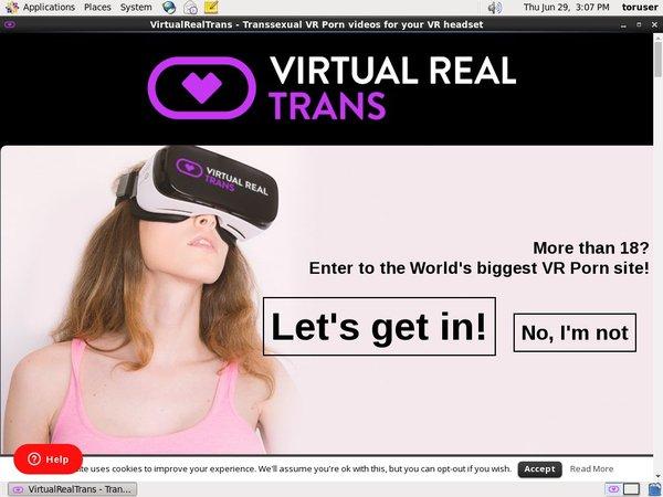 Virtual Real Trans Password Info